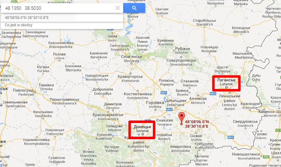 Wojsko Ukraińskie kontrolowało Ługańsk i Donieck